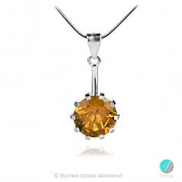 Elettra Nano Zultanite - Сребърна висулка с Нано Султанит 12 ct P014712Su-Естествени камъни