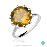 Elettra Nano Zultanite - Сребърен пръстен с Нано Султанит 12 ct R014712Su-Естествени камъни