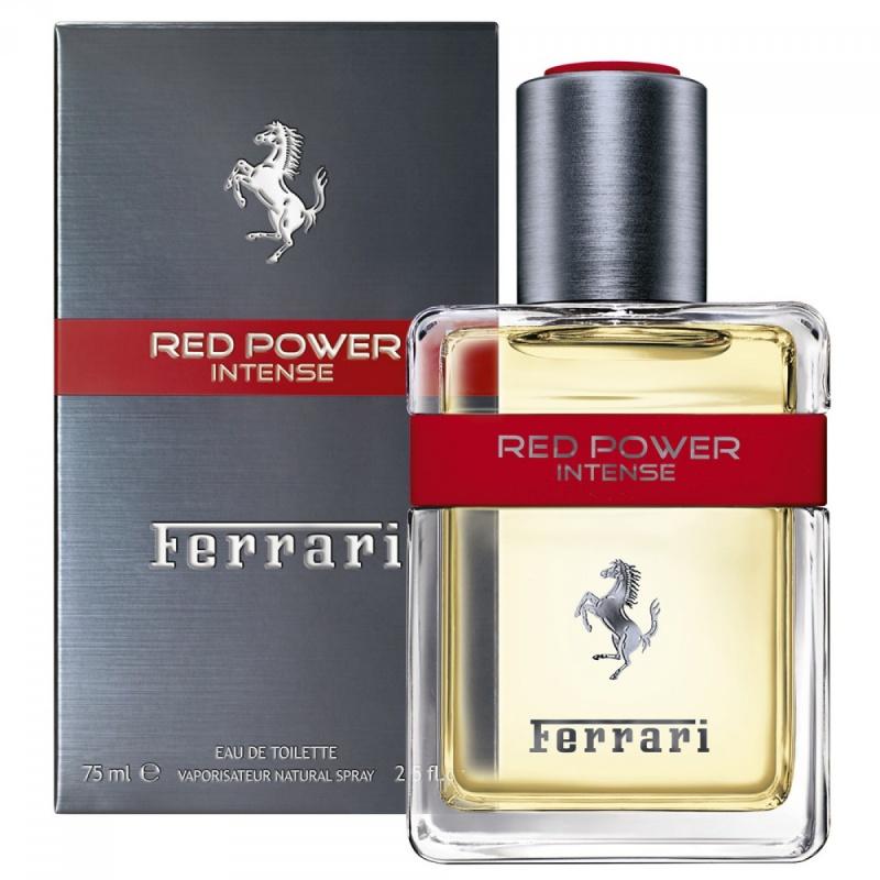 FERRARI  RED POWER INTENSE - Тоалетна вода за мъже ЕДТ 75 мл.-Парфюми