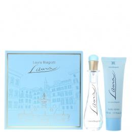 Комплект за жени Laura Biagiotti LAURA - Тоалетна вода EDT 25 мл + Лосион за тяло BL 50 мл-Парфюми