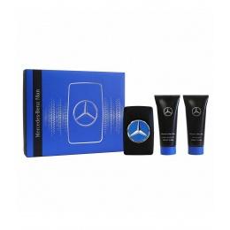 Комплект за мъже Mercedes-Benz Man - Тоалетна вода EDT 100 мл + Афтършейв балсам ASB 100 мл + Душ гел SG 100 мл-Парфюми
