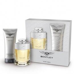 Комплект за мъже Bentley for Men - Тоалетна вода EDT 100 мл + Душ гел SG 200 мл-Парфюми