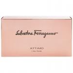 Комплект за жени Salvatore Ferragamo Attimo L`eau Florale - Тоалетна вода EDT 100 мл + Лосион за тяло BL 50 мл + Несесер-Парфюми