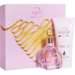 Комплект за жени Lanvin Rumeur 2 Rose - Парфюмна вода EDP 50 мл + Лосион за тяло BL 100 мл-Парфюми