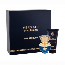 Комплект за жени Versace Dylan Blue - Парфюмна вода EDP 30 мл + Лосион за тяло BL 50 мл-Парфюми