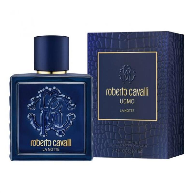 Roberto Cavalli Uomo La Notte - Тоалетна вода за мъже EDT 100 мл-Парфюми