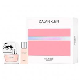 Комплект за жени Calvin Klein Women - Парфюмна вода EDP 50 мл + Лосион за тяло BL 100 мл-Парфюми