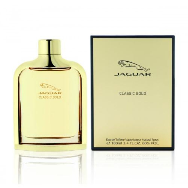 Jaguar Classic Gold - Тоалетна вода за мъже EDT 100 мл-Парфюми