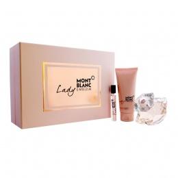 Комплект за жени Mont Blanc Lady Emblem - Парфюмна вода EDP 75 мл + 7.5 мл + Лосин за тяло BL 100 мл