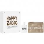 Комплект за жени Zadig&Voltaire This Is Her! - Парфюмна вода EDP 50 мл + Happy Zadig! чантичка-Парфюми