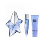 Комплект за жени Thierry Mugler ANGEL Reffilable - Парфюмна вода EDP 50 мл + Mini EDP 10 мл + Душ гел SG 50 мл-Парфюми