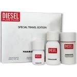 Комплект за мъже Diesel Plus Plus Masculine - Тоалетна вода EDT 75 мл + EDT 30 мл + Део-стик DEO 75 мл-Парфюми