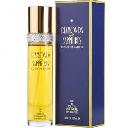Elizabeth Taylor Diamonds & Saphires - Тоалетна вода за жени EDT 100 мл-Парфюми