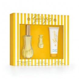 Комплект за жени Giorgio Beverly Hills GIORGIO - Тоалетна вода EDT 50 мл + Mini EDT 3.5 мл + Лосион за тяло BL 50 мл-Парфюми
