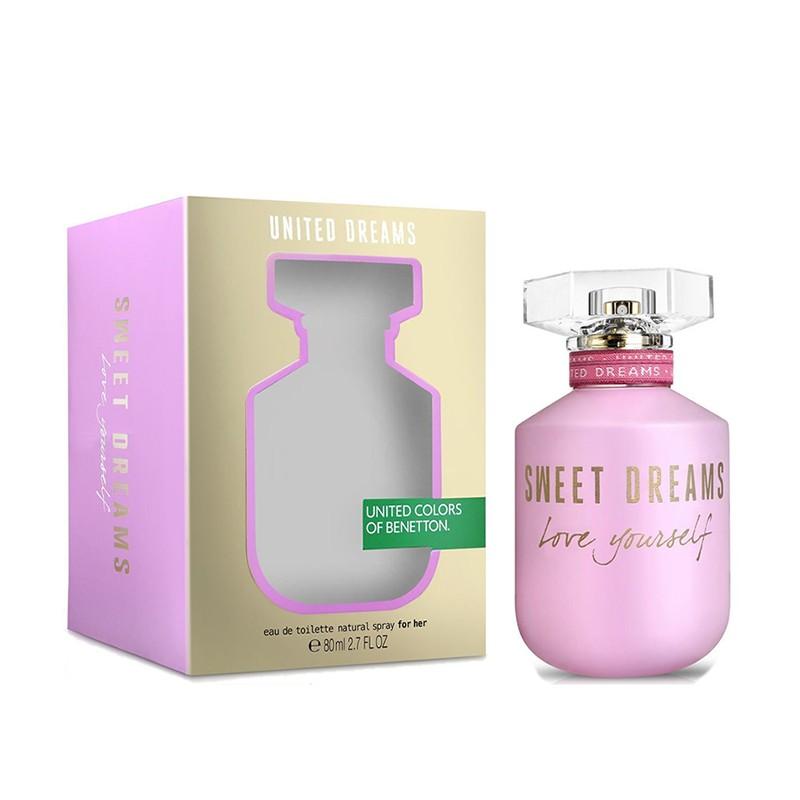 Benetton UCB Utd Dreams Sweet Dreams Love Yourself - Тоалетна вода за жени EDT 80 мл-Парфюми