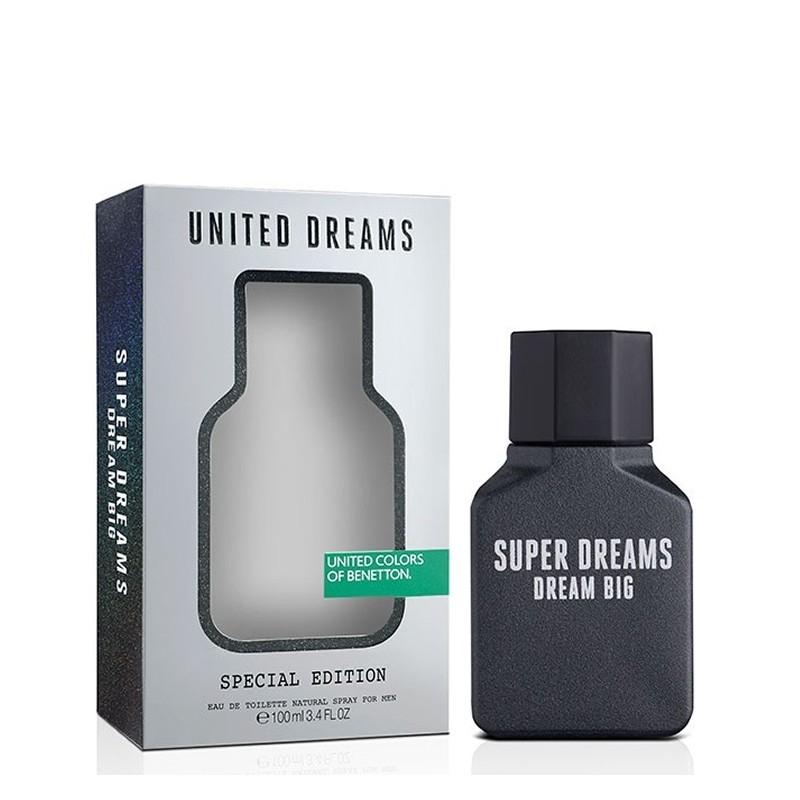 Benetton UCB Utd Dreams Super Dreams Dream Big - Тоалетна вода за мъже EDT 100 мл-Парфюми