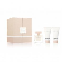 Комплект за жени Narciso Rodriguez NARCISO - Парфюмна вода EDP 50 мл + Мляко за тяло BM 50 мл + Крем за душ SC 50 мл-Парфюми