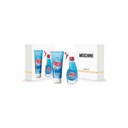 Комплект за жени Moschino Fresh Couture! - Тоалетна вода EDT 100 мл + Лосион за тяло BL 100 мл-Парфюми