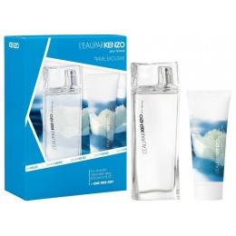 Комплект за жени Kenzo L`Eau pour Femme - Тоалетна вода EDT 100 мл + Лосион за тяло BL 75 мл-Парфюми