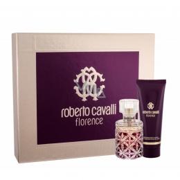 Комплект за жени Roberto Cavalli Florence - Парфюмна вода EDP 50 мл + Лосион за тяло BL 75 мл-Парфюми