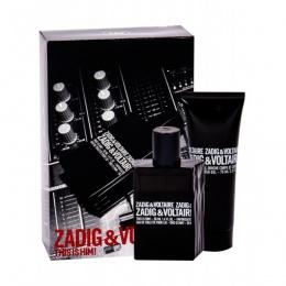 Комплект за мъже Zadig&Voltaire This Is Him! - Тоалетна вода EDT 50 мл + Душ гел SG 75 мл