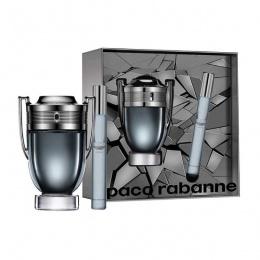 Комплект за мъже Paco Rabanne INVICTUS - Тоалетна вода за мъже EDT 100 мл + 20 мл-Парфюми