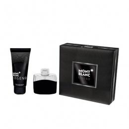 Комплект за мъже Mont Blanc Legend - Тоалетна вода EDT 50 мл + Афтършейв балсам ASB 100 мл-Парфюми