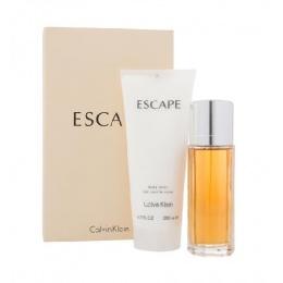 Комплект за жени Calvin Klein Escape - Парфюмна вода ЕDP 100 мл + Лосион за тяло BL 200 мл-Парфюми