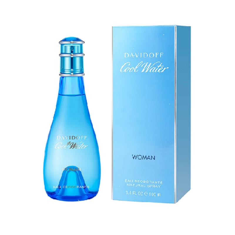 Davidoff Cool Water - Дезодорант спрей за жени DEO 100 мл-Парфюми