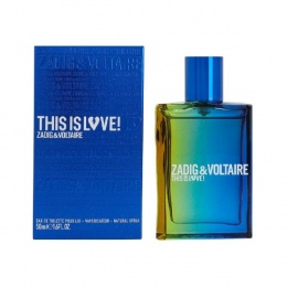 Zadig&Voltaire This Is Love! - Тоалетна вода за мъже EDT 50 мл-Парфюми