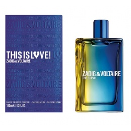 Zadig&Voltaire This Is Love! - Тоалетна вода за мъже EDT 100 мл-Парфюми