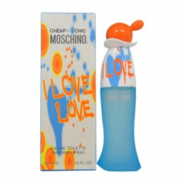 Moschino Cheap And Chic I Love Love - Тоалетна вода за жени EDT 50 мл-Парфюми