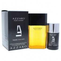 Комплект за мъже Azzaro Pour Homme - Тоалетна вода EDT 100 мл + Део-стик DEO 75 мл-Парфюми