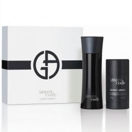 Комплект за мъже Giorgio Armani Code - Тоалетна вода за мъже EDT 75 мл + Део-стик DEO 75мл-Парфюми