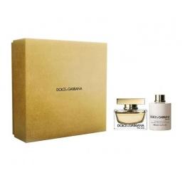 Комплект за жени Dolce&Gabbana The One - Парфюмна вода EDP 75 мл + Лосион за тяло BL 100 мл-Парфюми
