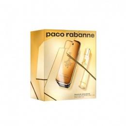 Комплект за мъже Paco Rabanne One Million - Тоалетна вода EDT 100 мл + 20 мл-Парфюми