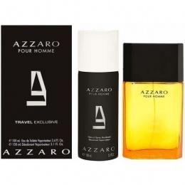 Комплект за мъже Azzaro Pour Homme - Тоалетна вода EDT 100 мл + Дезодорант 150 мл-Парфюми