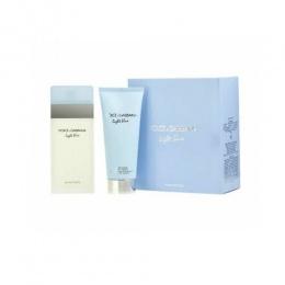 Комплект за жени Dolce&Gabbana Light Blue - Тоалетна вода EDT 100 мл + Крем за тяло BC 100 мл-Парфюми