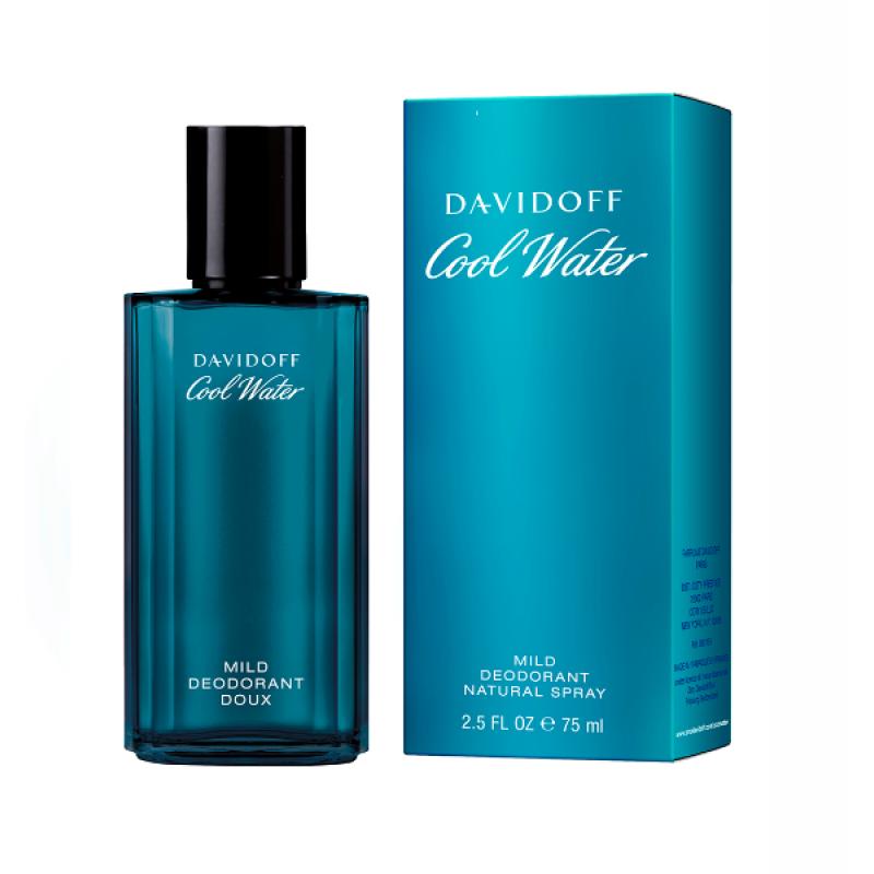 Davidoff Cool Water - Дезодорант за мъже DEO 75 мл-Парфюми