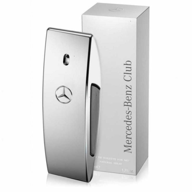 Mercedes-Benz Club - Тоалетна вода за мъже EDT 50 мл-Парфюми