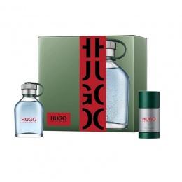 Комплект за мъже Hugo Boss Hugo - Тоалетна вода EDT 75 мл + Део-стик DEO 75 мл-Парфюми
