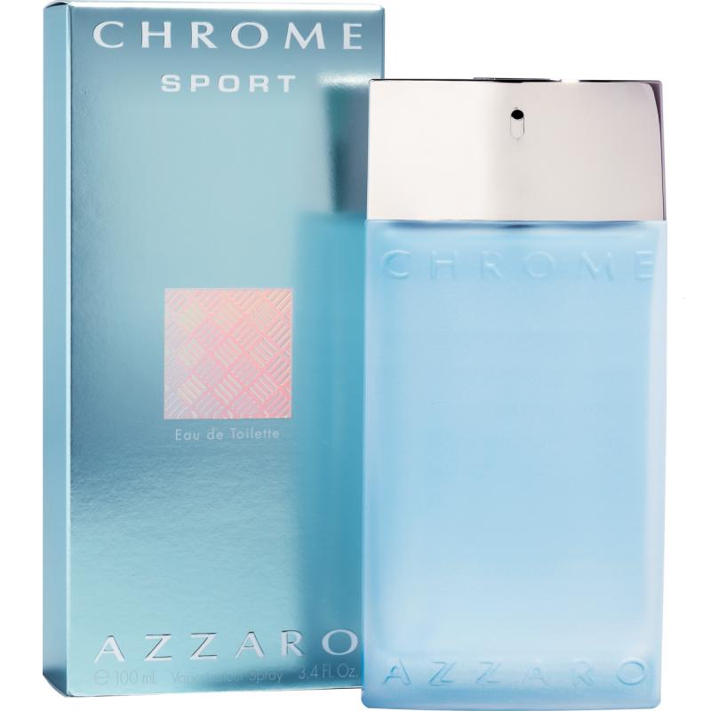 Azzaro Chrome Sport - Тоалетна вода за мъже EDT 100 мл-Парфюми