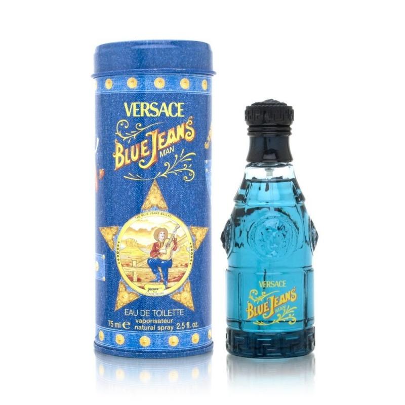 Versace Blue Jeans - Тоалетна вода за мъже EDT 75 мл-Парфюми