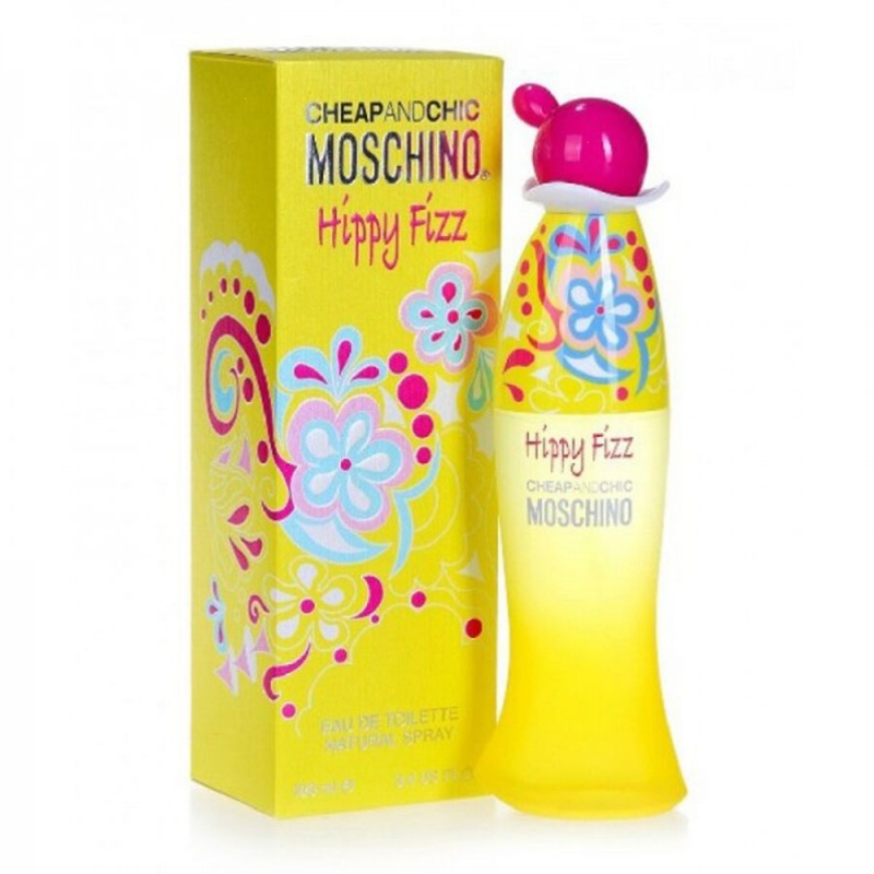 Moschino Cheap And Chic Hippy Fizz - Тоалетна вода за жени EDT 100 мл-Парфюми