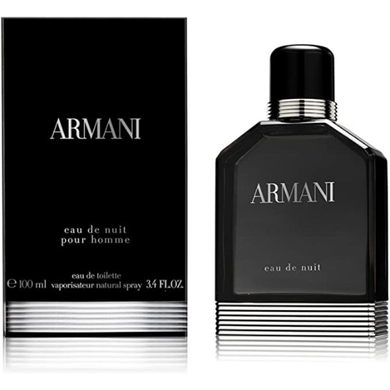Giorgio Armani Eau De Nuit - Тоалетна вода за мъже EDT 100 мл-Парфюми