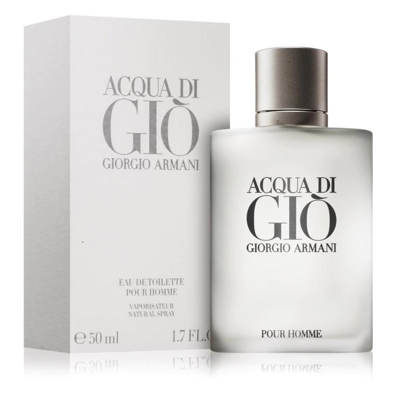 Giorgio Armani Acqua Di Gio - Тоалетна вода за мъже EDT 50 мл-Парфюми