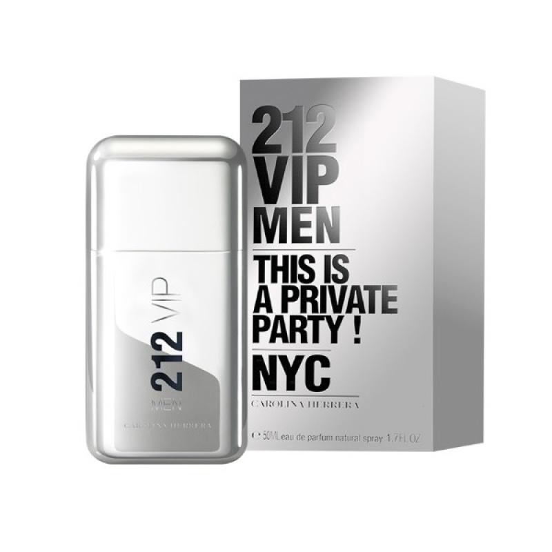 Carolina Herrera 212 VIP - Тоалетна вода за мъже EDT 50 мл-Парфюми