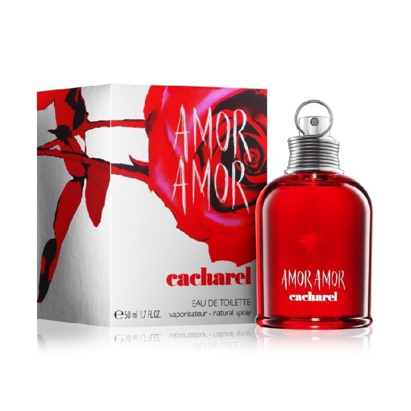 Cacharel Amor Amor - Тоалетна вода за жени EDT 50 мл-Парфюми