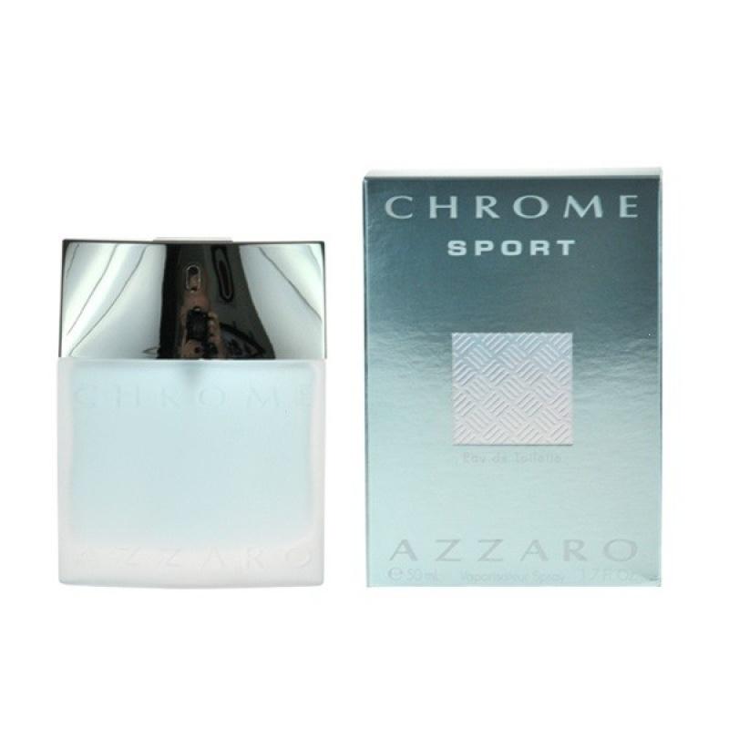 Azzaro Chrome Sport - Тоалетна вода за мъже EDT 50 мл-Парфюми