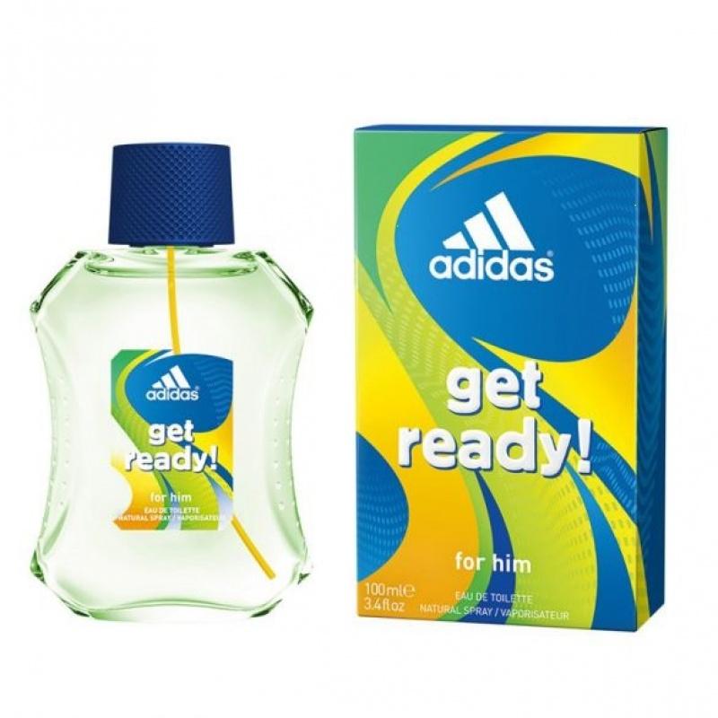 Adidas Get Ready! - Тоалетна вода за мъже EDT 100 мл-Парфюми
